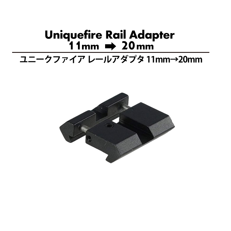 Uniquefire-挿入式レイルアダプターアイキャッチ
